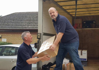 CM Moving Solutions - Box Packing